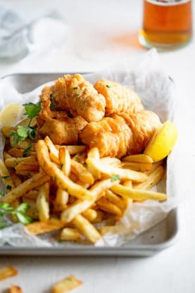 Fish and Chips Recipe 1 277x416 - THE BEST Fish and Chips Recipe ONLINE PLUS VIDEO!! (How to Make Fish and Chips)