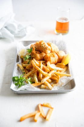 Fish and Chips Recipe | Grandbaby Cakes