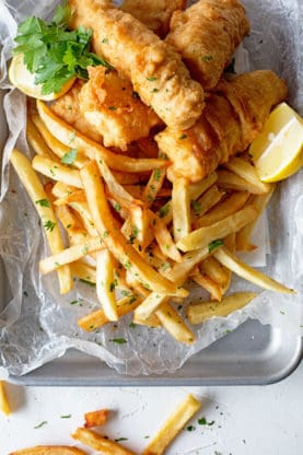 Fish and Chips Recipe 3 277x416 - THE BEST Fish and Chips Recipe ONLINE PLUS VIDEO!! (How to Make Fish and Chips)