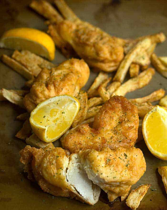 Fish and chips recipe grandbaby cakes for Best fish and chips recipe