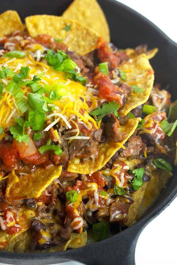 steak nachos 1 - Steak Nachos and Better Homes and Gardens Cook Book Giveaway