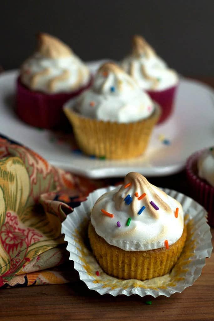 gbc sweet potato cupcakes 1 683x1024 - Sweet Potato Cupcakes with Toasted Marshmallow