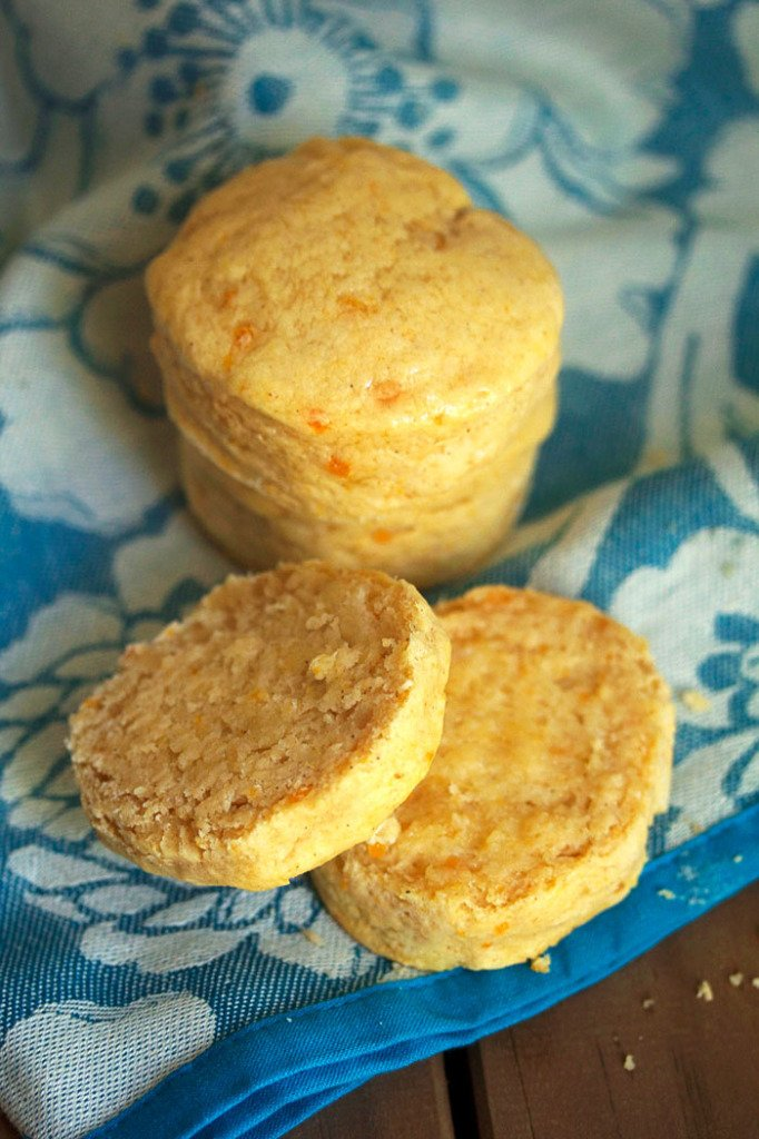 sweet potato biscuits 4 682x1024 - Southern Spiced Sweet Potato Biscuits