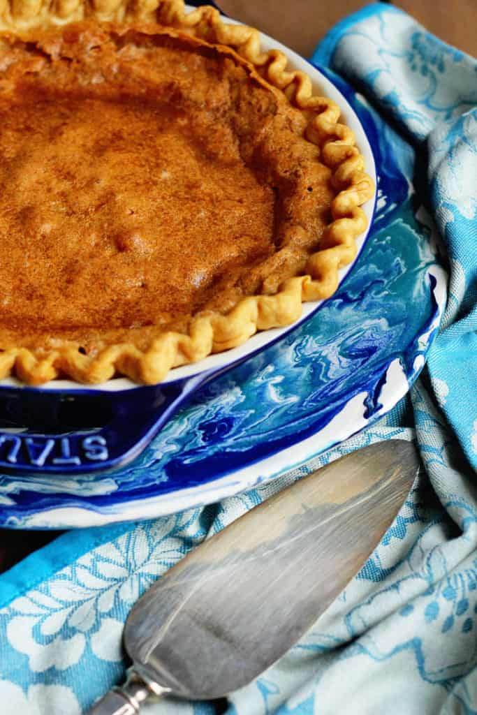 Brown Sugar Chess Pie
