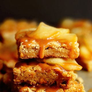 Butterscotch Apple Bars