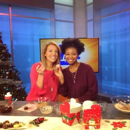 You and Me This Morning Eggnog Cookie Truffles