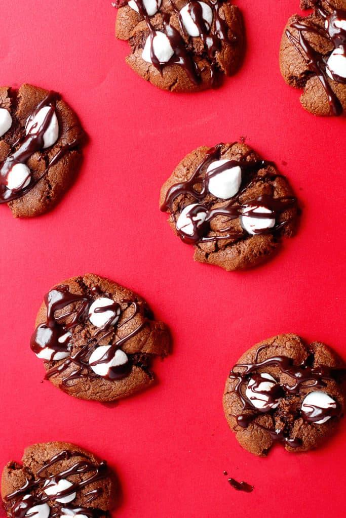 Mississippi Mud Cookies | Grandbaby Cakes