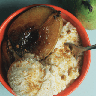 Maple Bourbon Ice Cream | Grandbaby Cakes