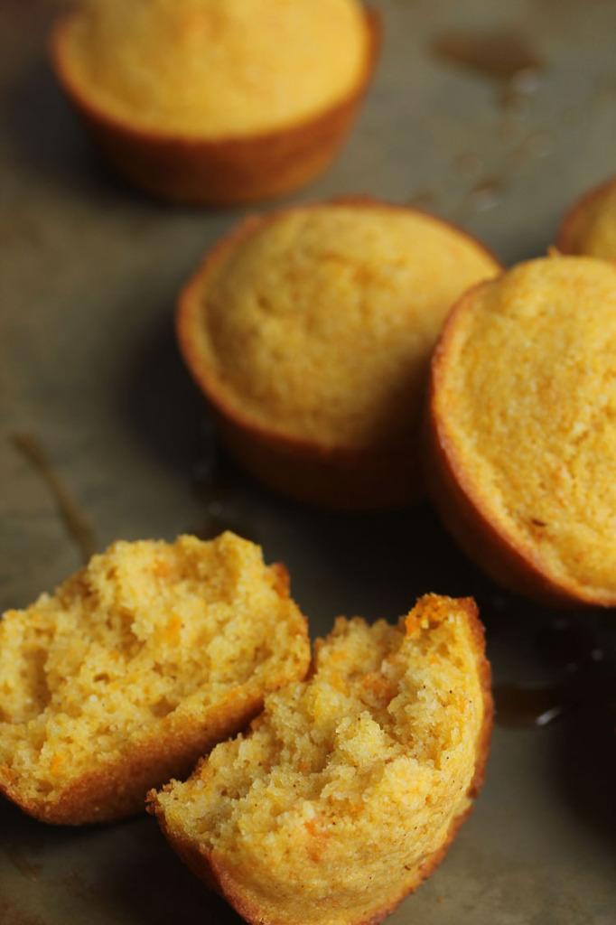 Maple Rum Sweet Potato Cornbread | Grandbaby Cakes