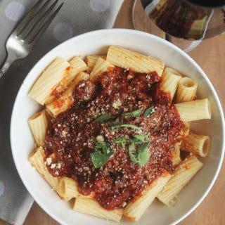 nanas italian pot roast 1 320x320 - Italian Pot Roast with Bolognese Sauce