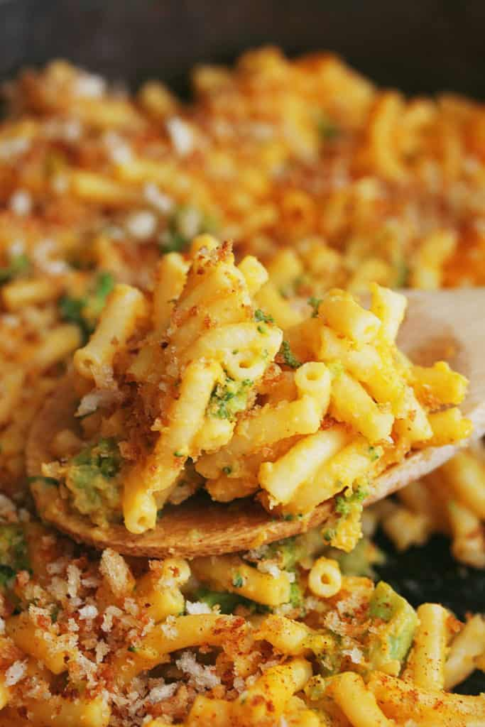 Butternut Squash Broccoli Mac and Cheese | Grandbaby Cakes