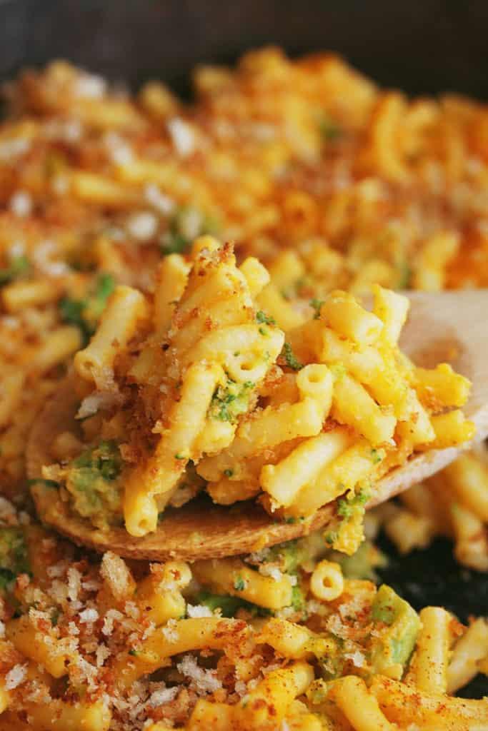 Butternut Squash Broccoli Mac and Cheese | Grandbaby Cakes