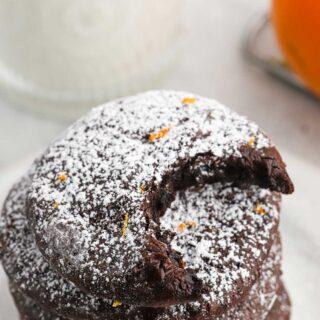 Flourless Chocolate Orange Cookies 1 320x320 - Flourless Chocolate Orange Cookies