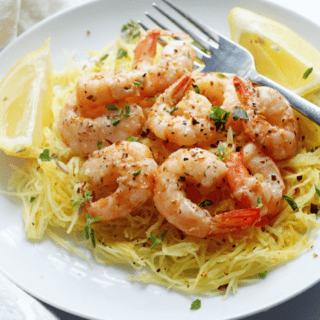 Screenshot 2015 01 12 14.29.33 320x320 - Light Shrimp Scampi with Spaghetti Squash