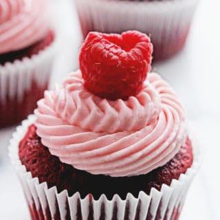 Red Velvet Raspberry Cupcakes 3 320x320 - Red Velvet Cupcakes