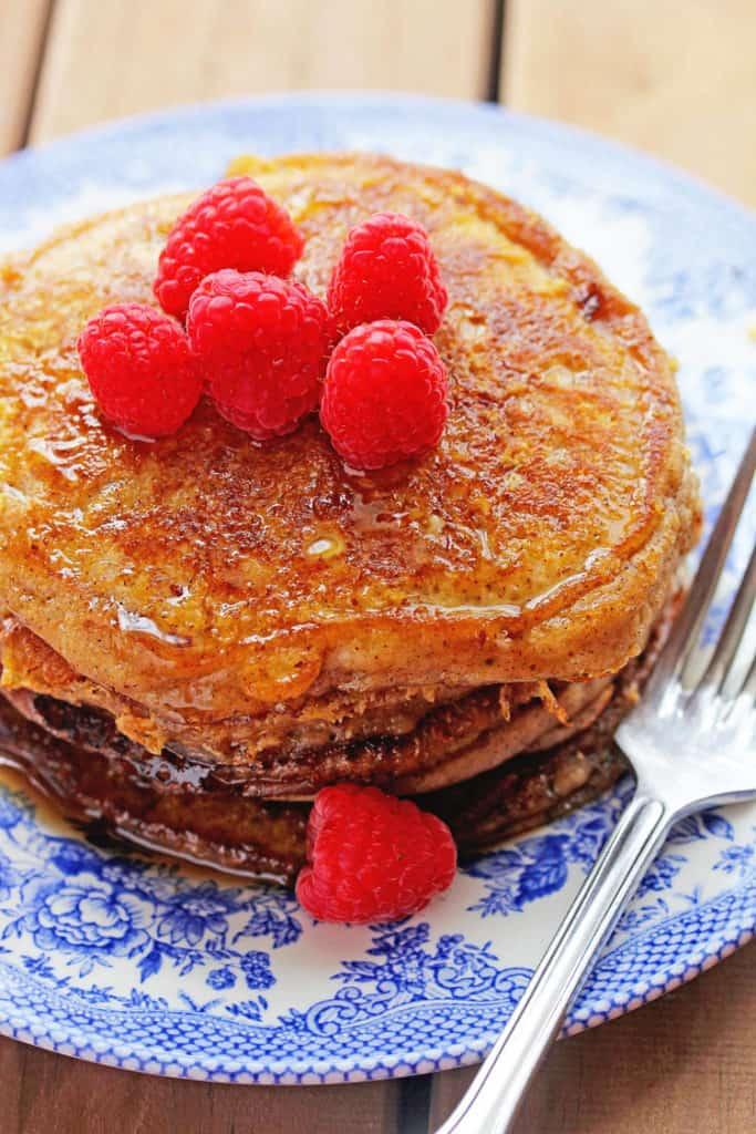 french toast pancakes 2 683x1024 - French Toast Pancakes Recipe