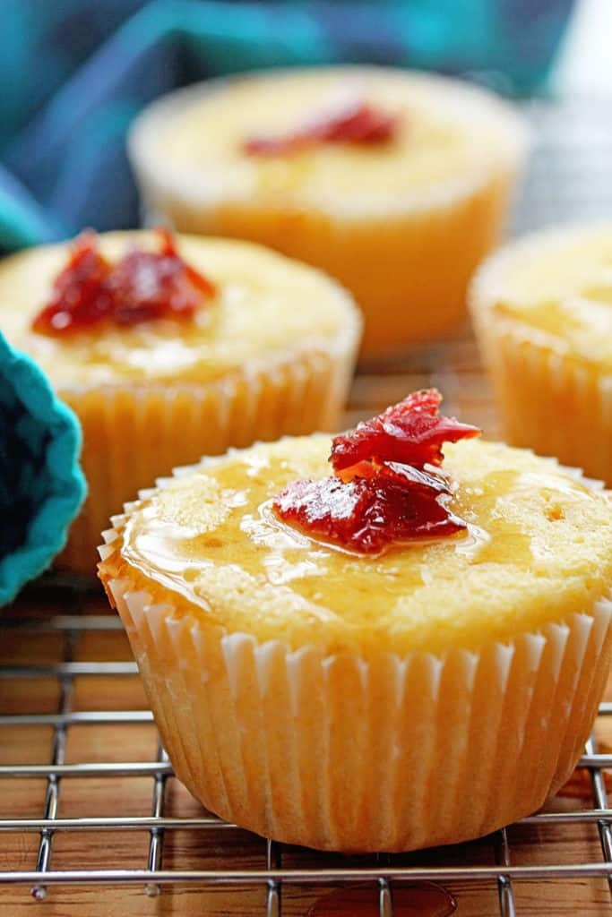 Maple Bacon Corn Muffins | Grandbaby Cakes