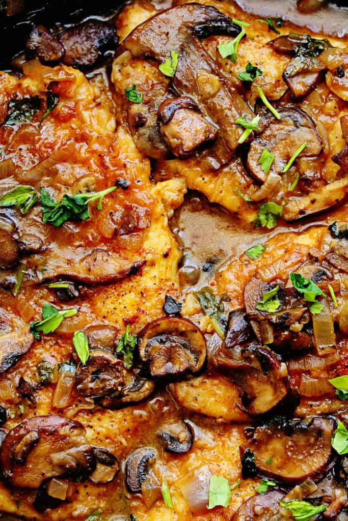 Healthy Dinner Recipes - Chicken Marsala