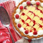Raspberry Key Lime Pie | Grandbaby Cakes