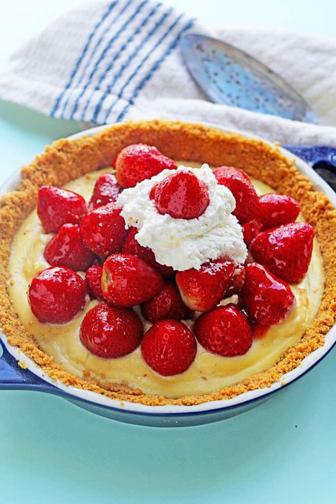 strawberry tart 1 683x1024 - Strawberry Tart