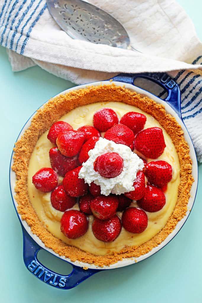 strawberry tart 3 683x1024 - Strawberry Tart
