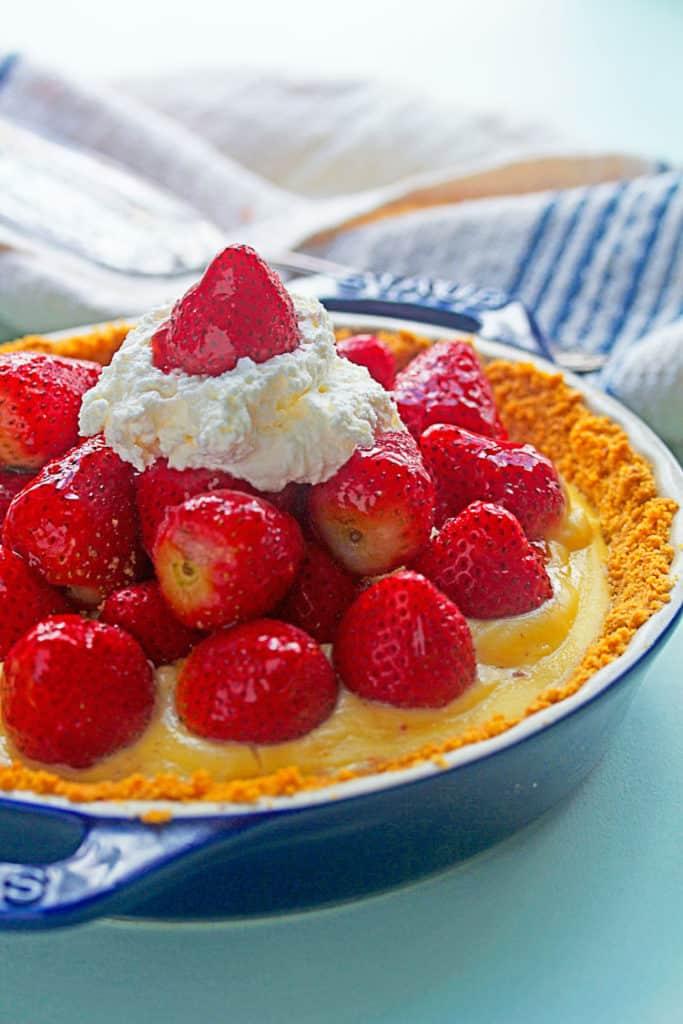 strawberry tart 4 683x1024 - Strawberry Tart