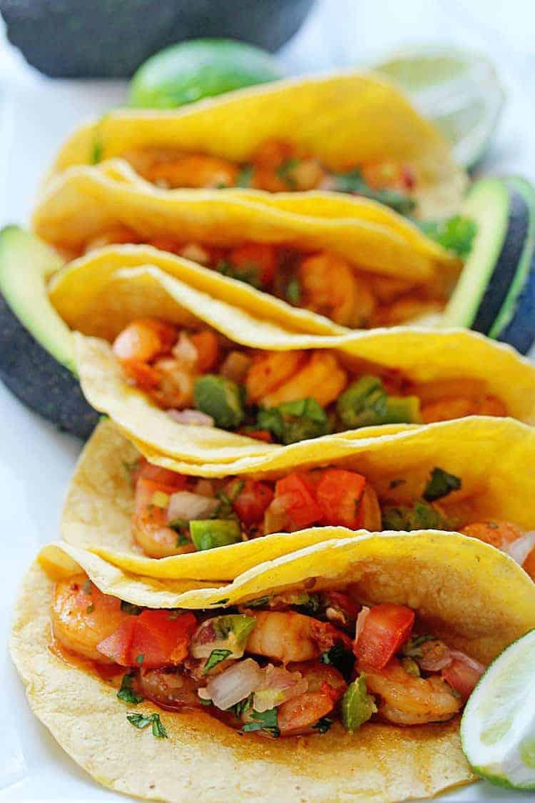Chipotle Shrimp Tacos 1 - Easy Chipotle Shrimp Tacos