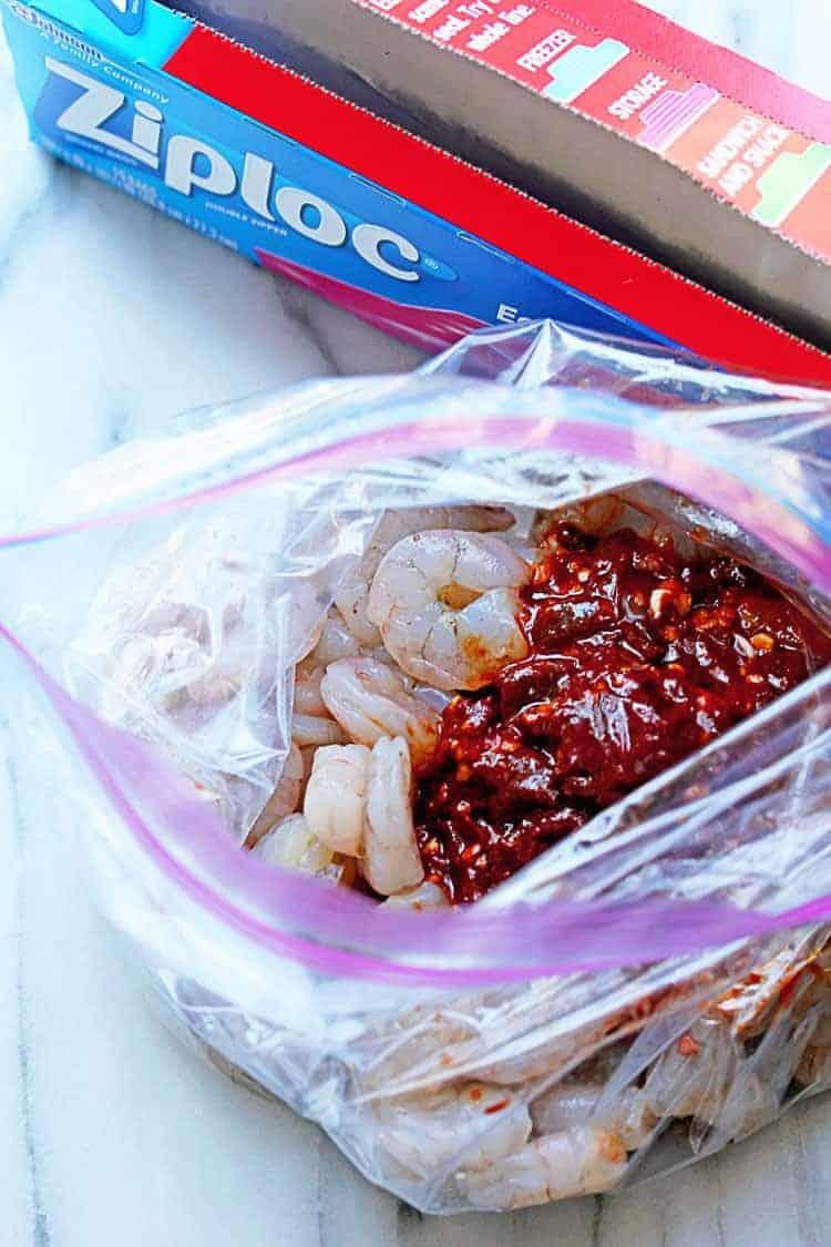Chipotle Shrimp Tacos 4 - Easy Chipotle Shrimp Tacos