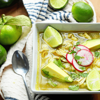 Chicken Pozole Verde Recipe (Chicken Pozole Recipe)