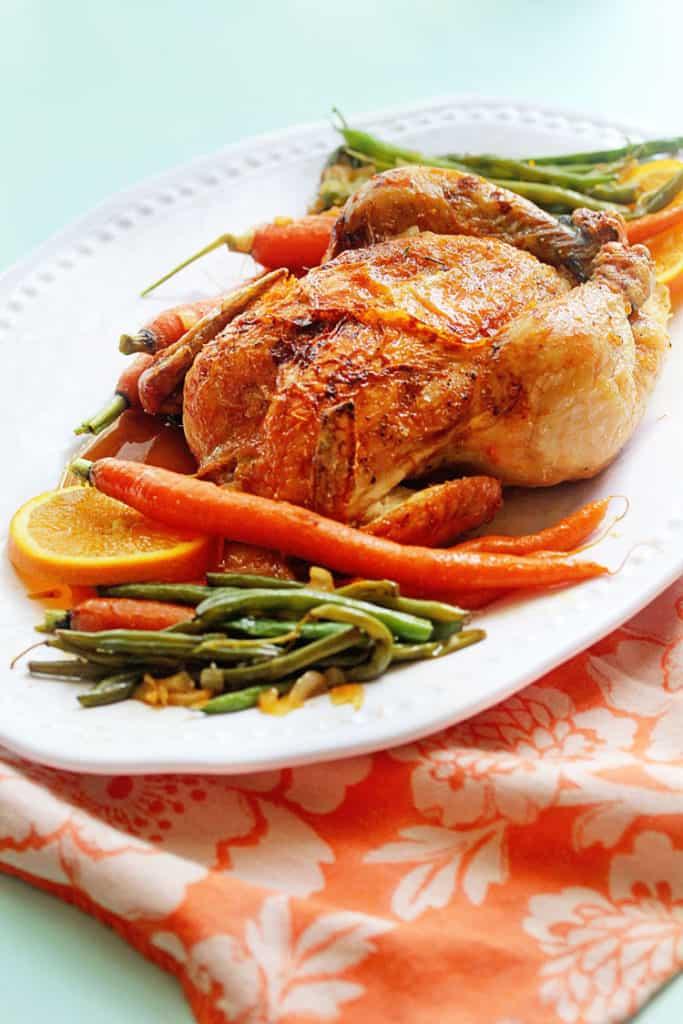 Orange Honey Roast Chicken 1 683x1024 - Orange Honey Roast Chicken