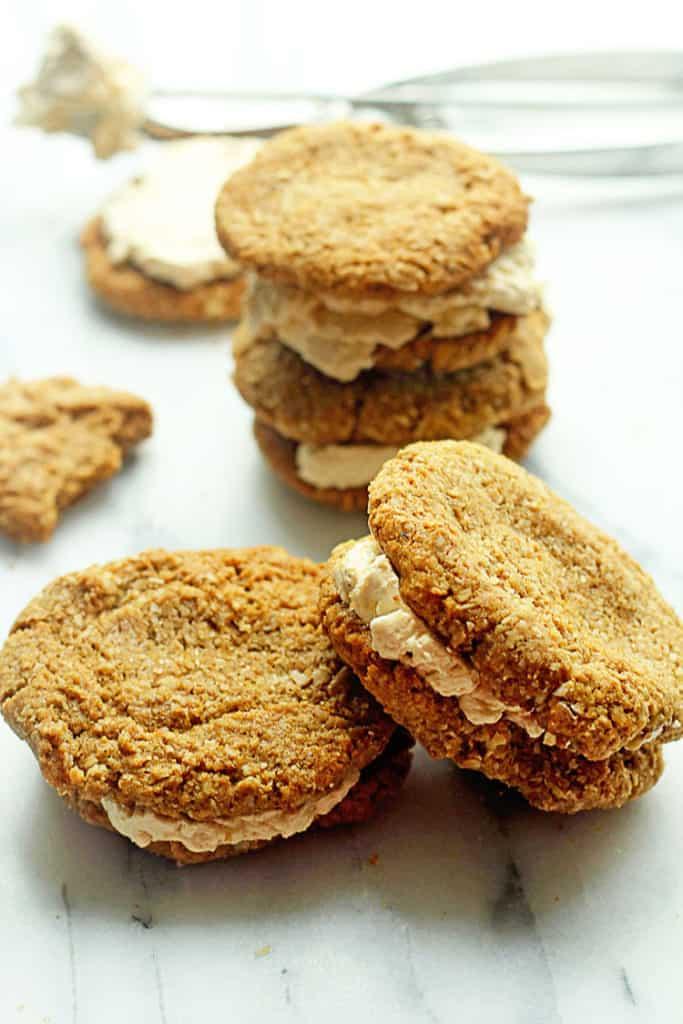 Oatmeal Cream Cookie Sandwiches | Grandbaby Cakes