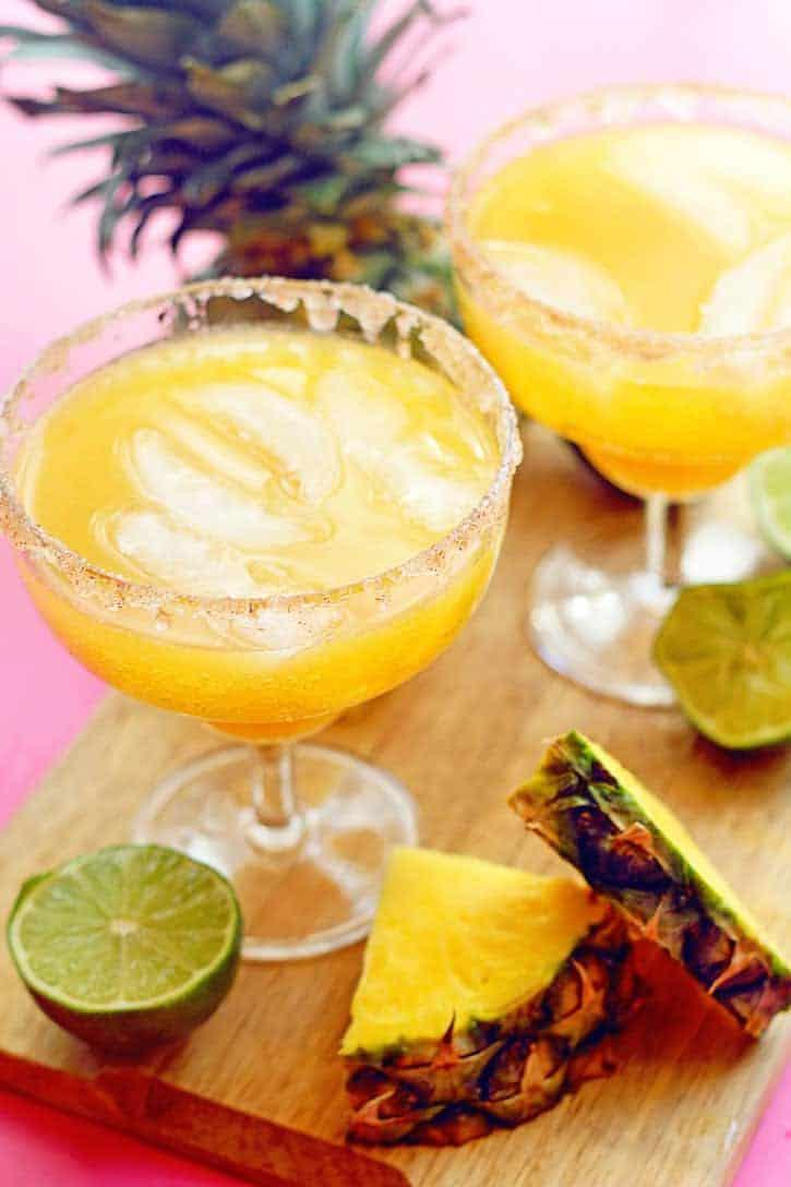 Pineapple Mocktail Margarita | Grandbaby Cakes