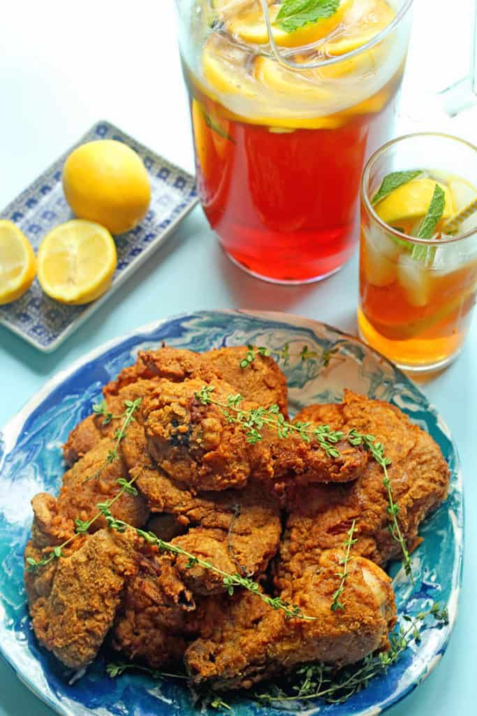 Sweet Tea Fried Chicken | Grandbaby Cakes