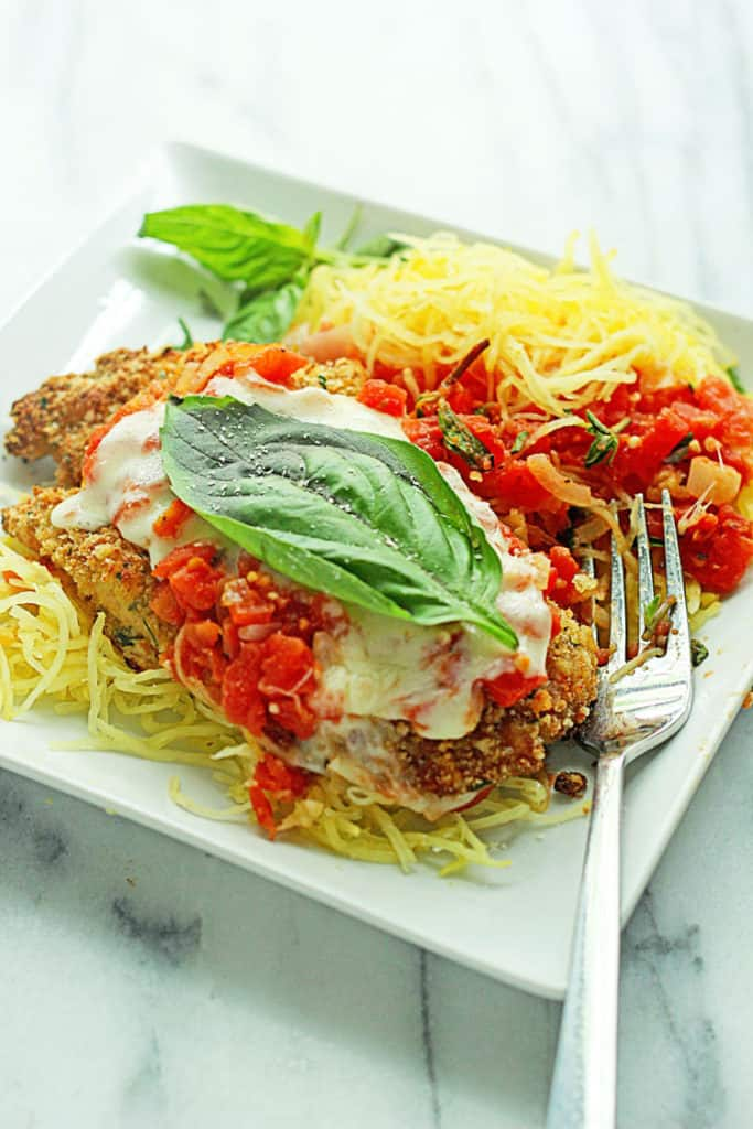 spaghetti squash chicken parmesan recipe facebook pages