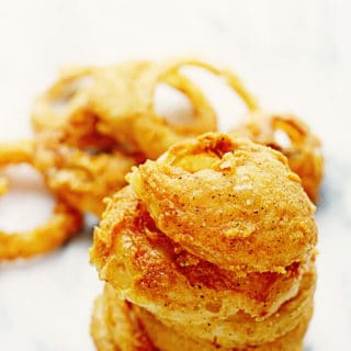 Crispy Fried Onion Rings | Grandbaby Cakes