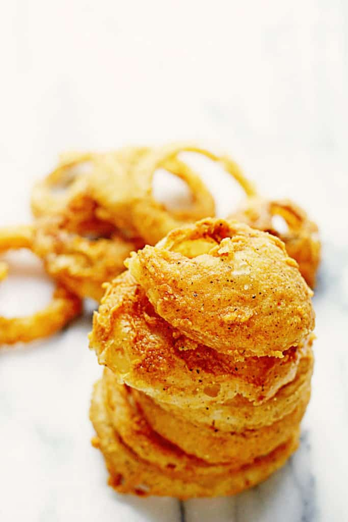 Crispy Fried Onion Rings 3 683x1024 - Fried Onion Rings (CRISPY AND DELISH!)
