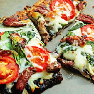 Grilled Flank Steak Flatbread