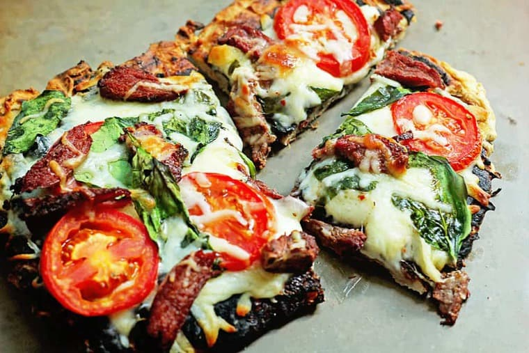 Grilled Flank Steak Flatbread 3 - Grilled Flank Steak Flatbread