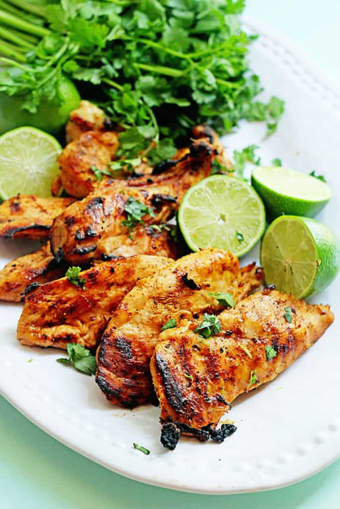 Grilled Tequila Lime Chicken | Grandbaby Cakes