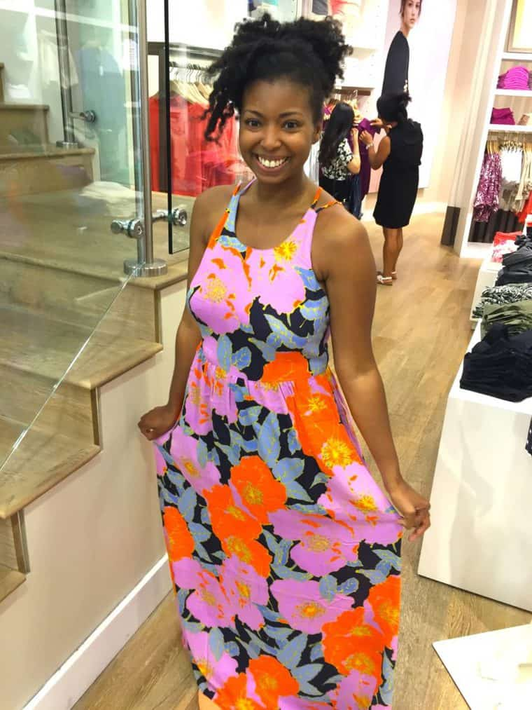 Loft Dress Floral Dress | Grandbaby Cakes