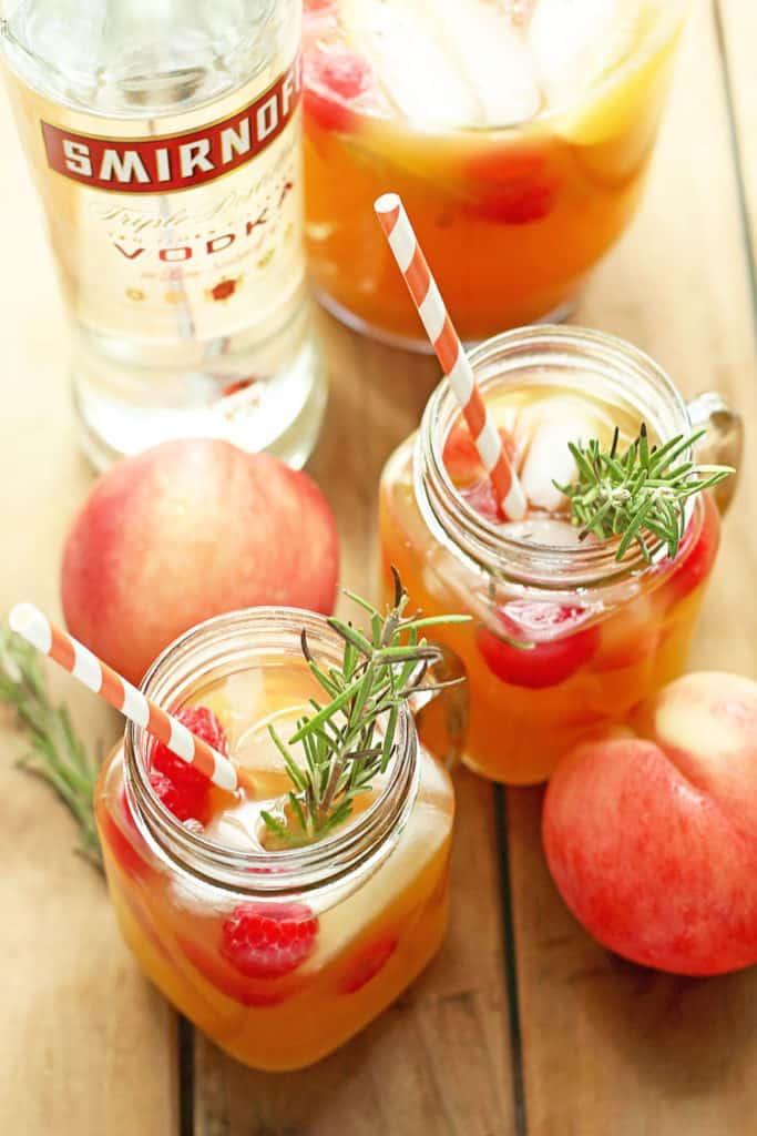 Peach Nectar Punch   Grandbaby Cakes