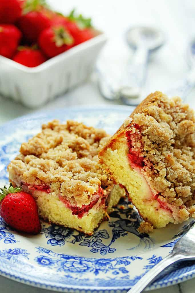 Coffee Cake With Crumble Topping Recipe