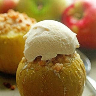 Baked Crumble Apples 3 320x320 - Baked Apples with Basic Apple Crumble Recipe