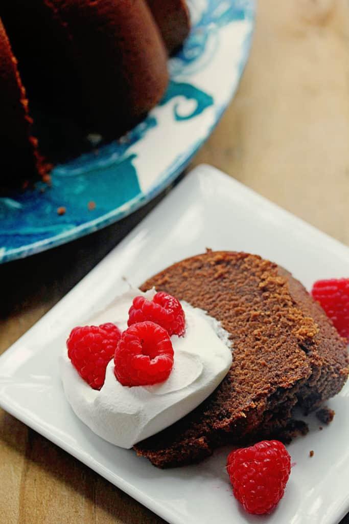 Chocolate Pound Cake 3 683x1024 - Deep Chocolate Pound Cake Recipe
