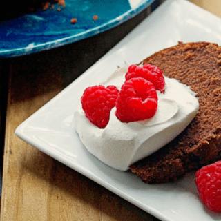 Deep Chocolate Pound Cake Recipe