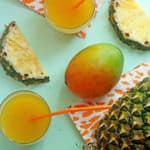 Tropical Pineapple Punch | Grandbaby Cakes