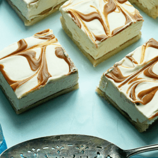 Cookie Cheesecake Swirl Bars