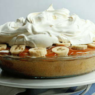 Frozen Banoffee Pie