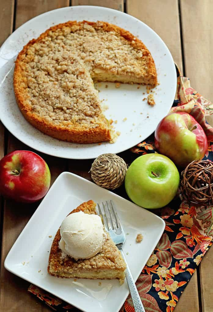 GBCakes Blog Maple Apple Cake 1 697x1024 - Maple Apple Cake