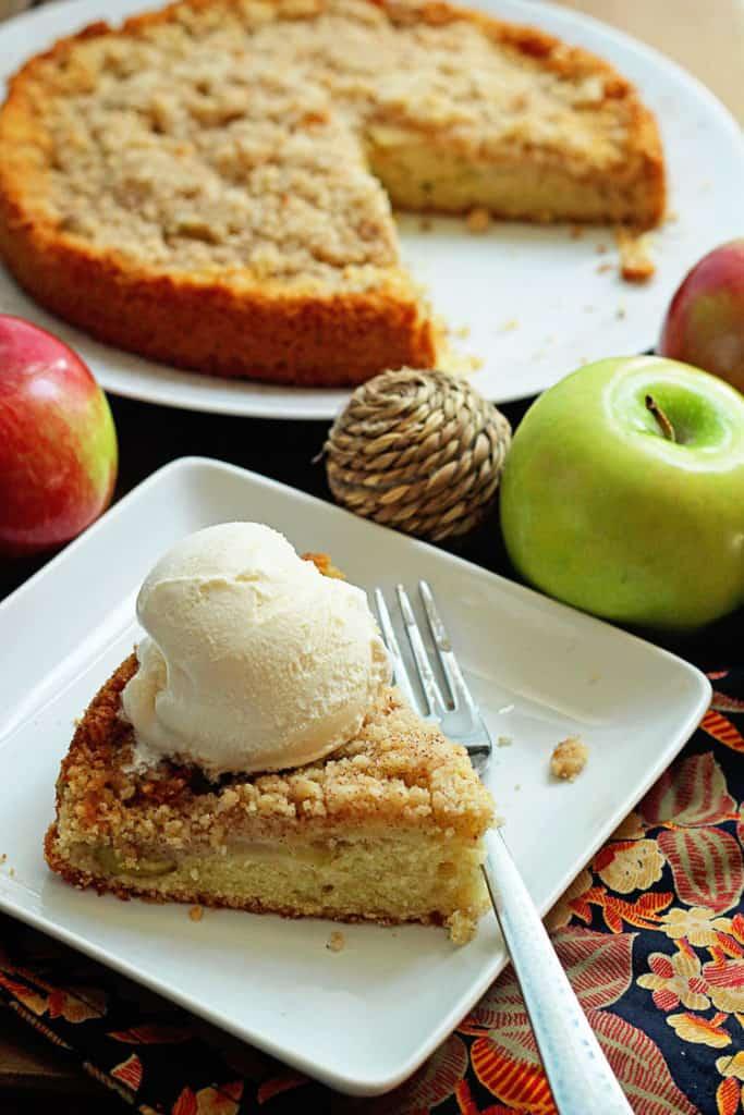 GBCakes Blog Maple Apple Cake 2 683x1024 - Maple Apple Cake